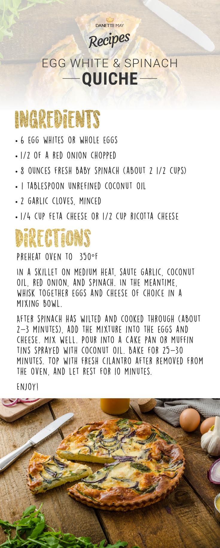 egg white quiche recipe