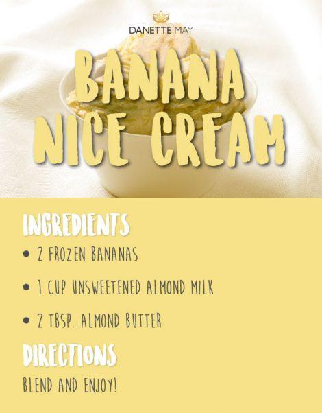 banana nice cream recipe