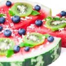 Fun and Festive Watermelon Pizza
