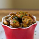 HEARTY & HEALTHY BALSAMIC MUSHROOMS AND ONIONS