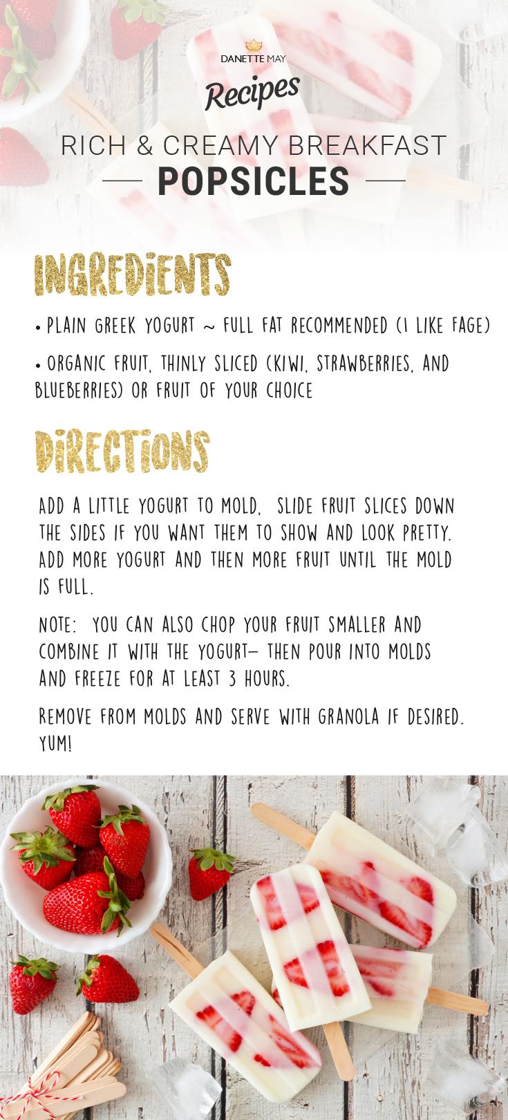 Danette May Recipe