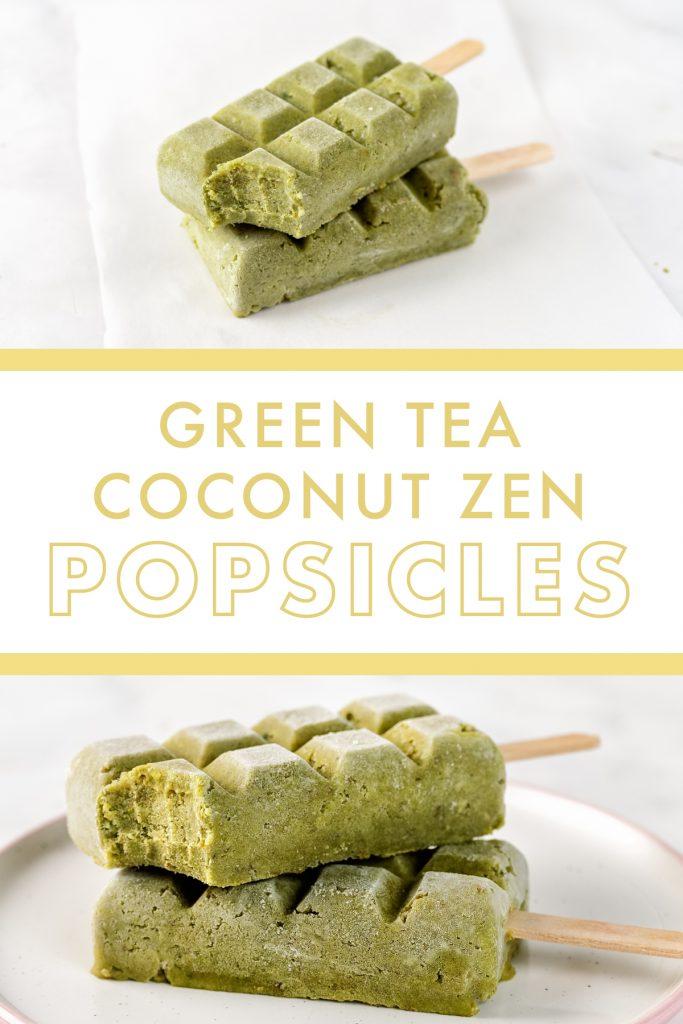 Danette May's Green Tea Coconut Zen Popsicle Recipe