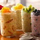 Fruity, Fat Burning Fridge Oats