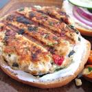Savory Turkey Burger With Zesty Yogurt Sauce