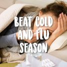 5 Home Remedies To Fight Colds & Flu
