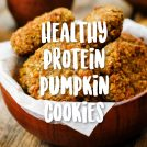 HEALTHY PUMPKIN PROTEIN COOKIES