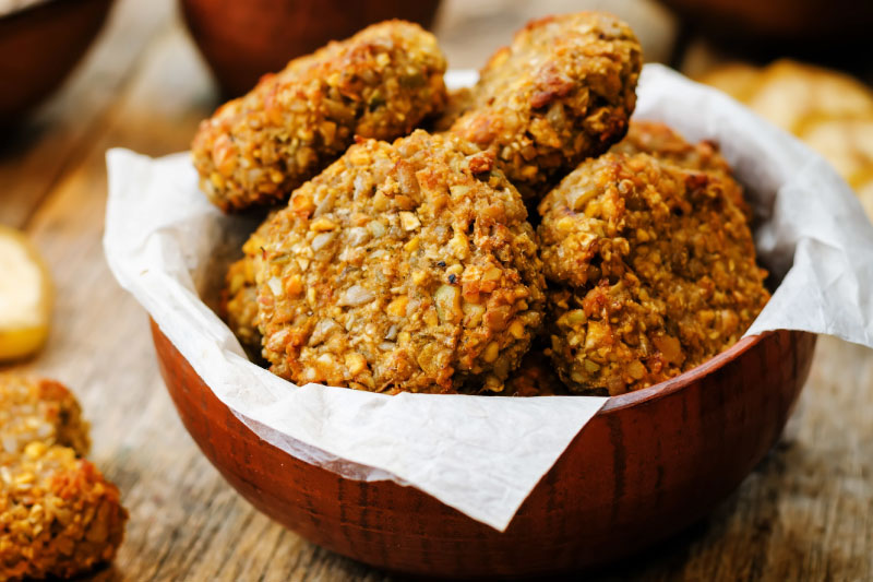 Healthy Protein Pumpkin Cookies