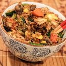 Skinny Quinoa Veggie Fried Rice