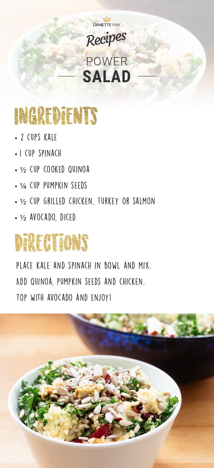Danette May Recipe Kale Salad