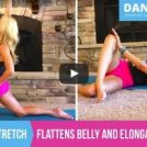 Hip Flexor stretch – Flattens Belly and Elongates Muscles