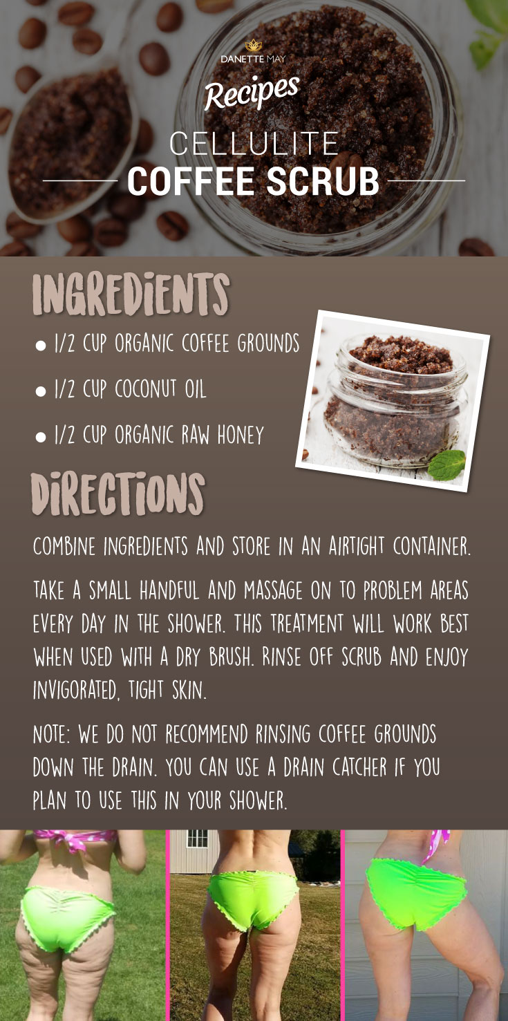How to make homemade coffee scrub for cellulite