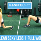 Long Lean Sexy Legs (Full Workout)