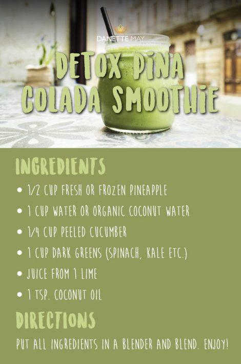 Detox Pina Colada Smoothie