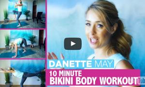 Get A Spring Bikini Body – 10 Minute Full Body Workout
