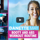 GET LUCKY WORKOUT ROUTINE! Booty and Abs