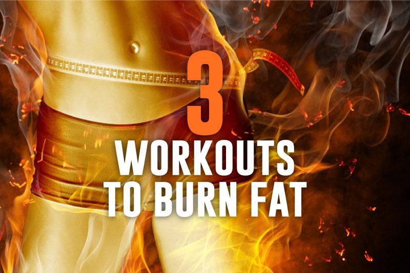 burning machine workouts