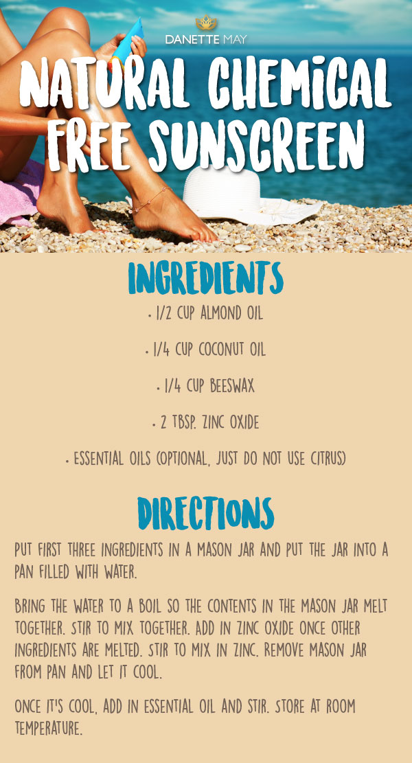 make your own sunscreen recipe