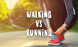 Walking versus Running
