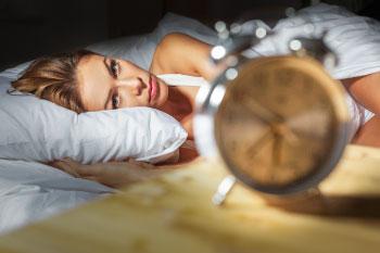 insomnia woman