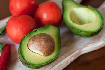 tomatoes and avocado boost nutrients