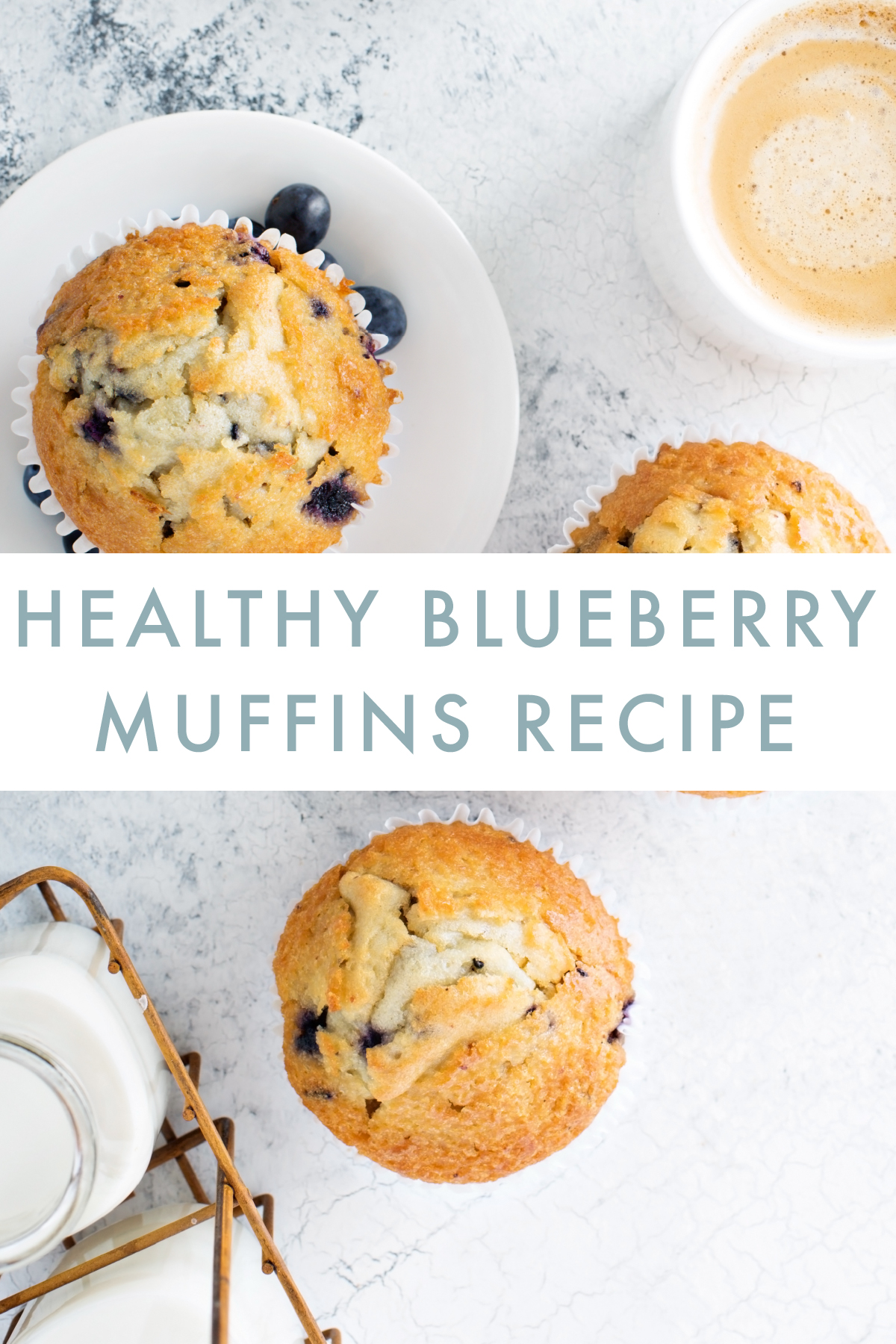 Danette May Healthy Blueberry Muffins