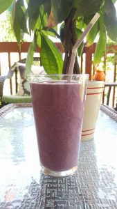 PBJ smoothie summer recipe