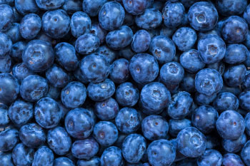 blueberries nails and hair health