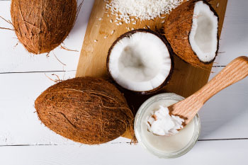 coconut oil and coconuts natural antibiotics kitchen