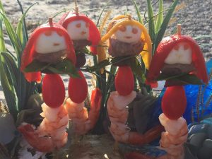 mermaids on the beach summer recipe