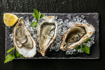 oysters nails and hair health