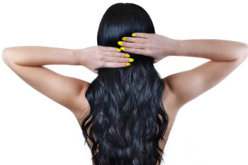 long hair and nails health