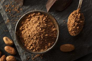 raw cacao powder skyrockets health