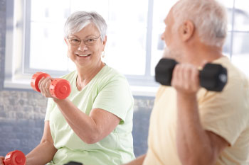 elderly people exercising reasons exercise