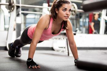 woman exercising release feel good hormones endorphins