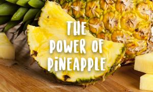 sliced pineapple power pineapple irreplaceable