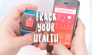 smart phone watch track health numbers