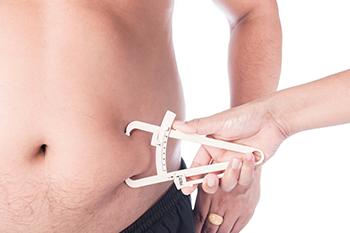 man's body fat measured diet pills