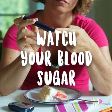 control blood sugar weight loss