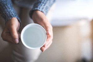 warm water to help gut health