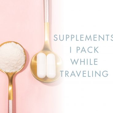 supplements for traveling