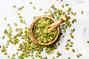 pumpkin seeds high in tryptophan