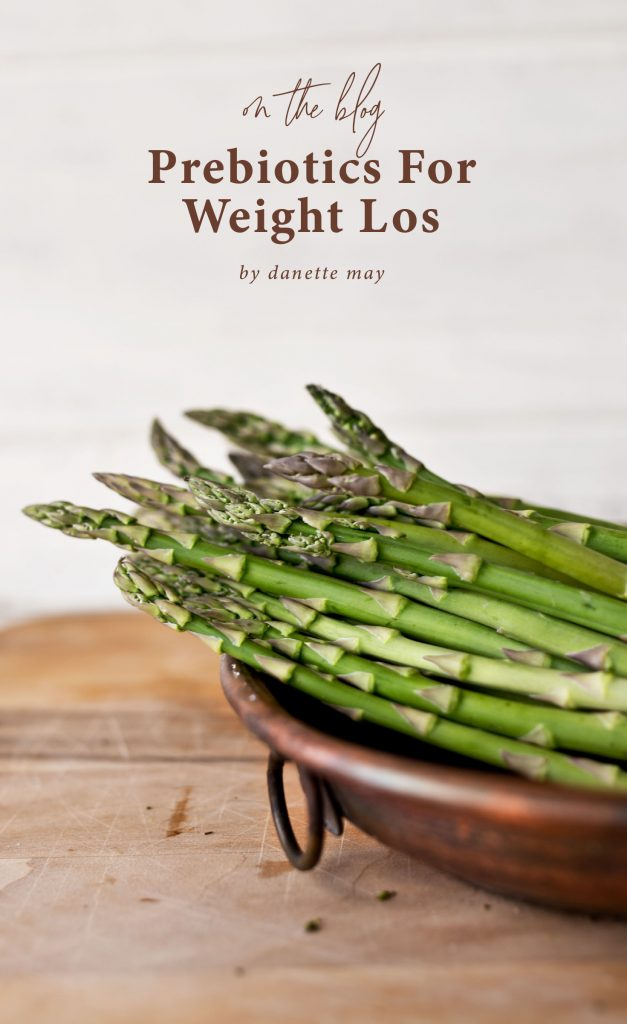 asparagus in wood bowl probiotics weight loss