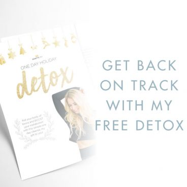 Danette May's One Day Holiday Detox