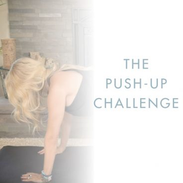 Danette May's Push Up Challenge