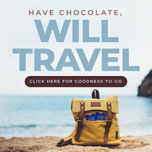 Have Chocolate, Will Travel - With Cacao Bliss Travel Packs!