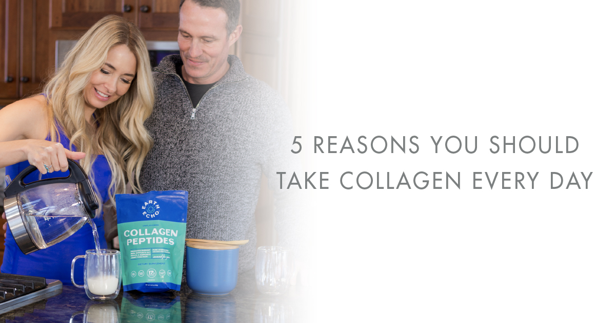 5 Reasons To Take Collagen Daily