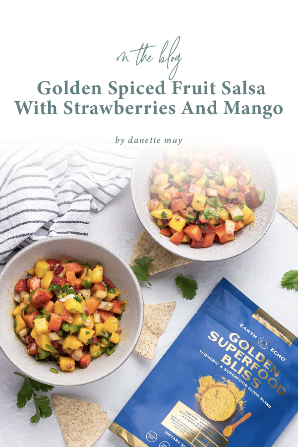 Golden Spiced Fruit Salsa Recipe With Strawberries